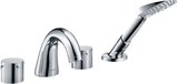 Hansgrohe Axor Starck 4-hole tub edge fitting, projection 140mm