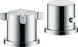 Hansgrohe Axor Citterio E 2-hole bath rim fitting with thermostat
