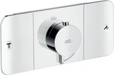 Hansgrohe Axor Starck One thermostat module flush-mounted for 2 consumers