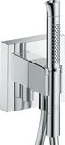 Hansgrohe Axor Starck Organic Porter unit 12 x 12, with hand shower 2jet and sho...