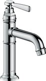 Hansgrohe AXOR Montreux single-lever basin mixer 100, without pop-up waste, 142m...