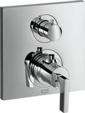 Hansgrohe Axor Citterio thermostat flush-mounted with shut-off valve, lever hand...