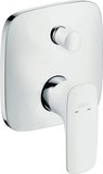 Hansgrohe PuraVida single lever bath mixer flush-mounted