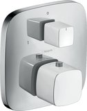 Hansgrohe PuraVida Thermostat flush-mounted with stop/changeover valve