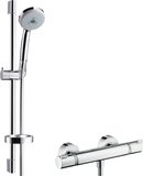 Hansgrohe Croma 100 surface-mounted shower system Multi with Ecostat Comfort the...