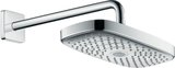 Hansgrohe Raindance Select E300 2 jet EcoSmart shower head with shower arm 390 mm, 26609
