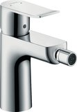 Hansgrohe Metris single-lever bidet mixer with pop-up waste 31280000