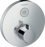 Hansgrohe ShowerTablet ShowerSelect S Thermostat, flush-mounted, 1 consumer, chr...