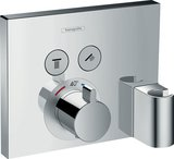 Hansgrohe ShowerSelect Thermostat, flush-mounted, 2 consumers, 15765000, chrome