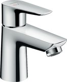 hansgrohe Talis E Single lever basin mixer 80 Coolstart without pop-up waste