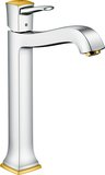 Hansgrohe Metropol Classic single-lever basin mixer 260, lever handle, pop-up wa...