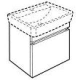 keramag renova nr 1 plan handwaschbecken 45x32. Black Bedroom Furniture Sets. Home Design Ideas
