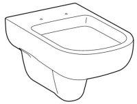 Keramag GmbH Keramag Smyle Tiefspül-WC wandhängend, 6l, Farbe: Weiß 205500000