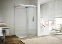 Koralle S606Plus Custom-made Walk-In sliding door (DW/BW) DSW2 R, width: 1200-18...