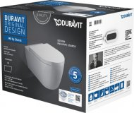 Duravit ME by Starck Wand-WC Duravit Rimless® Set