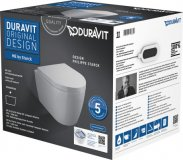 Duravit ME by Starck Wall-hung WC Compact Duravit Rimless® Set