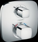 Hansgrohe ShowerTablet Ecostat E Thermostat, flush-mounted, 1 consumer, chrome