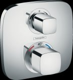 Hansgrohe ShowerTablet Ecostat E Thermostat, flush-mounted, 2 consumers, chrome