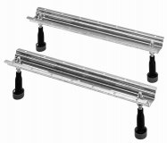 Duravit base frame for bathtubs and shower trays with side length 1000mm, 2 pcs....