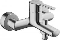 Hansa Hansaronda One-hand bath mixer 0374, for wall mounting, chrome-plated