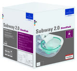Villeroy & Boch Subway 2.0 WC Combi-Pack, DirectFlush