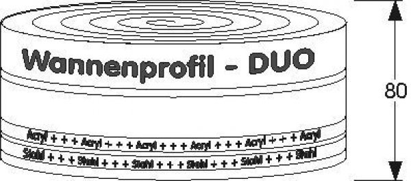 MEPA tub profile DUO