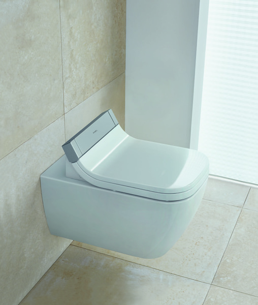 Duravit Happy D.2 wall-mounted WC Happy D.2 Wash-down washer, rimless, extended model
