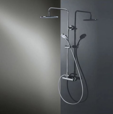 HSK Shower-Set model RS 200 Mix, with one-hand lever mixer, 1006500