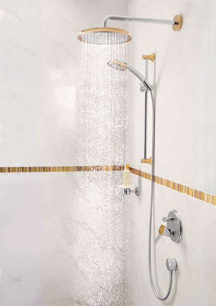 Hansgrohe Raindance Classic shower set 100 3jet with shower bar 65 cm, 27843