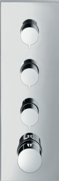 Hansgrohe Axor Starck ShowerCollection Thermostat module flush-mounted 36 x 12