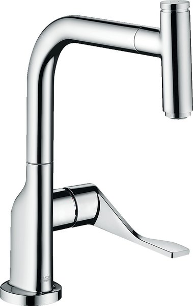 Hansgrohe Axor Citterio DN15 Single lever kitchen mixer Select 230 with pull-out spout