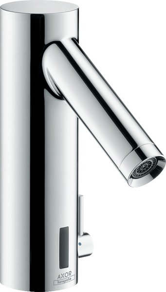 Hansgrohe electronic washbasin mixer with temperature regulation Battery operation