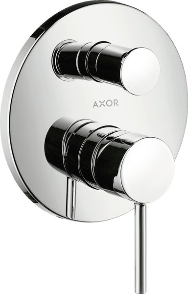 Hansgrohe Axor Starck flush-mounted one-hand bath mixer complete set with safety combination