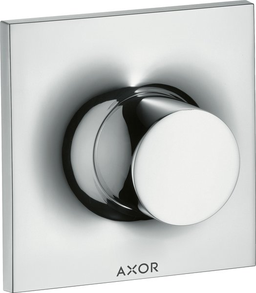 Hansgrohe Axor Massaud Trio / Quattro Shut-off and changeover valve flush-mounted DN20