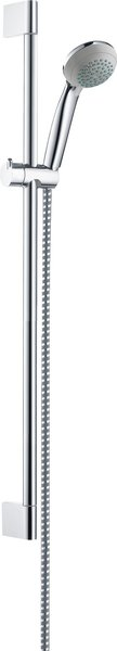 Hansgrohe Crometta 85 shower set Mono Green 6 l/min with shower rod 65 cm, 27652000, chrome