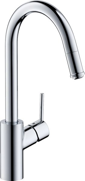 Hansgrohe Talis S² Variarc single lever kitchen mixer 260, front window installation, pull-out spout, 1jet, chrome