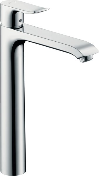 Hansgrohe Metris single-lever basin mixer 260 without pop-up waste for washbowls 31184000