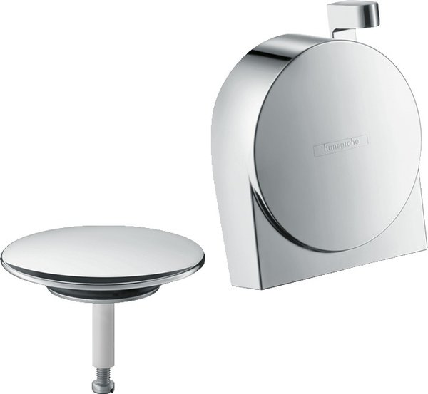 hansgrohe Exafill S complete set bath spout, drain and overflow set
