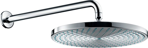 Hansgrohe Raindance AIR 300mm overhead shower with shower arm 389mm