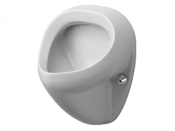 duravit urinal bill zulauf von hinten absaugend ohne deckel mit fliege. Black Bedroom Furniture Sets. Home Design Ideas