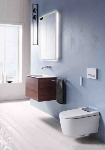 Geberit actuating plate Sigma50 for 2-volume flushing