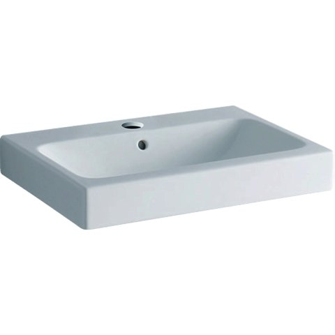 Keramag iCon countertop washbasin with tap hole, 60x48.5cm white, 124560
