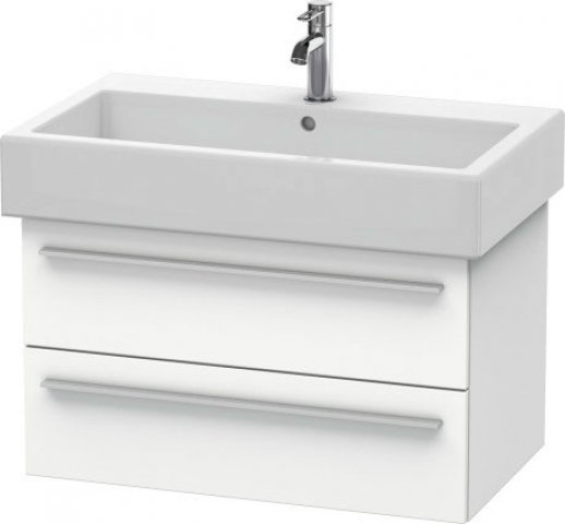 Duravit X-Large Vanity unit wall-mounted 6345, 2 drawers, 750mm for Vero
