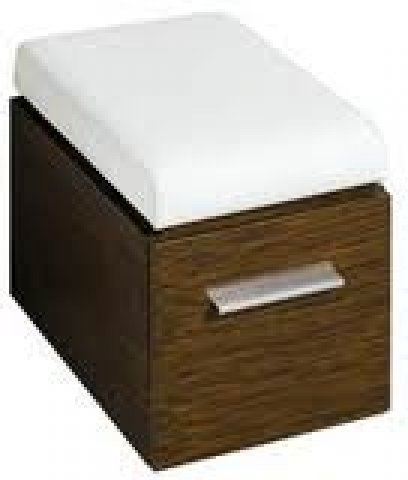 keramag silk hocker 816071 380x450 490x560 mm. Black Bedroom Furniture Sets. Home Design Ideas