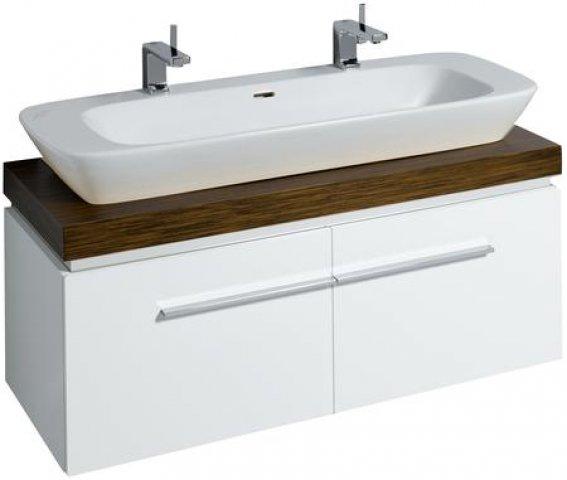 keramag silk waschtischunterschrank 816022 120x40x47cm. Black Bedroom Furniture Sets. Home Design Ideas