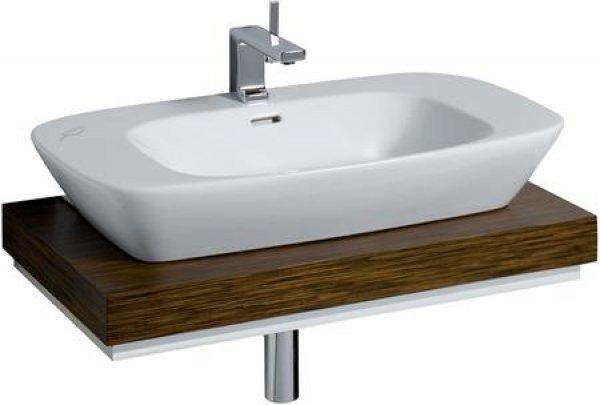 keramag silk waschtischplatte 816380 80x10x47cm. Black Bedroom Furniture Sets. Home Design Ideas