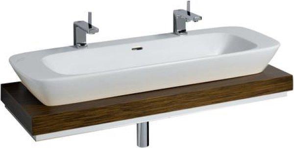 keramag silk waschtischplatte 816320 120x10x47cm ausschnitt mittig. Black Bedroom Furniture Sets. Home Design Ideas