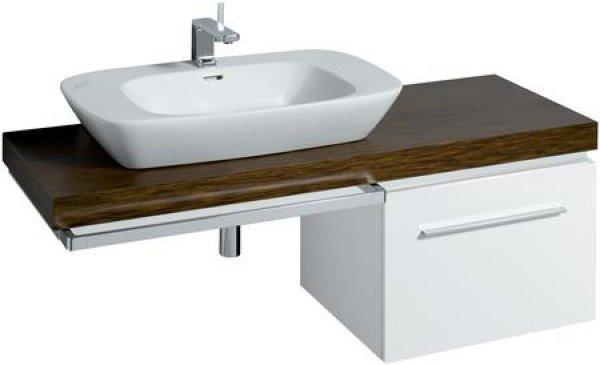 keramag silk waschtischplatte 816340 140x10x47cm. Black Bedroom Furniture Sets. Home Design Ideas