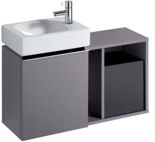 keramag icon xs seitenelement 840139 370x400x245 mm. Black Bedroom Furniture Sets. Home Design Ideas