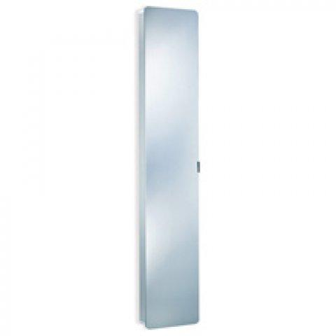 hsk asp softcube li alu spiegel hochschrank 35x1750x17. Black Bedroom Furniture Sets. Home Design Ideas